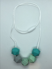 Hexagon - mint