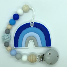 Rainbow - blauw/grijs