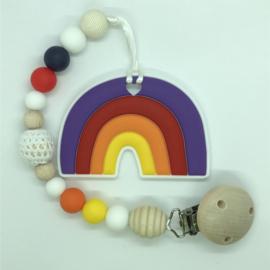 Rainbow - paars/oranje