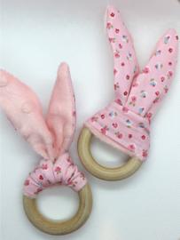 Little Bunny - roze bloemetjes