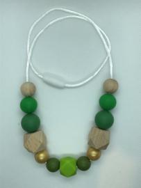 Quinze - groen/goud