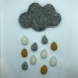 Wolkenring grijs