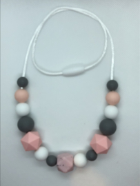 Quinze - roze/grijs
