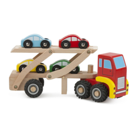 Autotransporter + 4 auto's