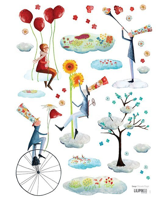 STICKER BOARD A3 (29,7X42CM) - THE GARDENERS OF THE SKY