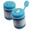 Romed reinigingsdoekjes antibacterieel (met alcohol) 20 x 11 cm, 110 stuks,  1 pot