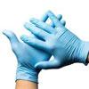 Abena nitrile-handschoen poedervrij - S   BLAUW 100 stuks  1 doos