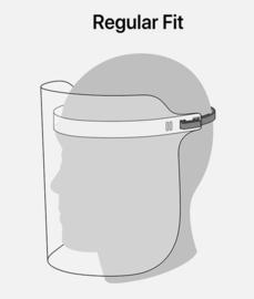 Gezichtsbeschermer (face schield) universeel met plastic hoofdband