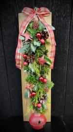Festoen met kerstbel DIY (luxe)
