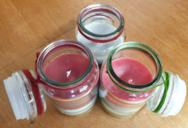 Zelfgemaakte kaarsen