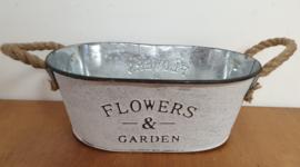 Zinken bak Flowers & Garden