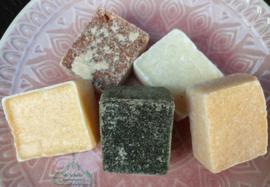 Amber geurblokjes