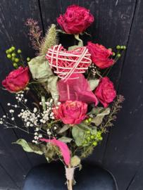 Moederdag doogbloemen boeket
