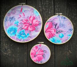Wooncirkels paars/roze