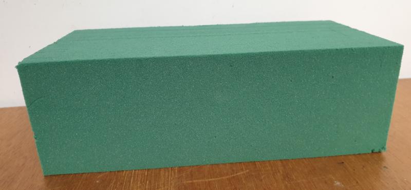 Steekschuim groen blok