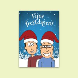 Ansichtkaart Fijne feestdagen!