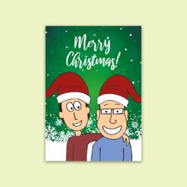 Ansichtkaart Merry Christmas!