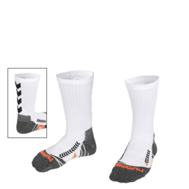 Korte witte Hummel sokken