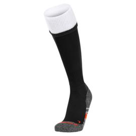 Zwarte Stanno sokken met witte band