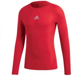Rood Adidas thermoshirt