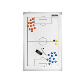 Klein tactiekbord voetbal