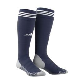 Donkerblauwe voetbalsok Adidas