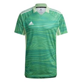 Adidas Condivo 2021 groen keepersshirt korte mouw
