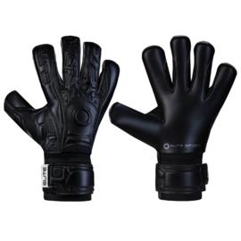 Zwarte keepershandschoenen Elite Solo