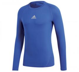 Blauw Adidas thermoshirt