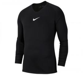 Zwart NIKE  thermoshirt