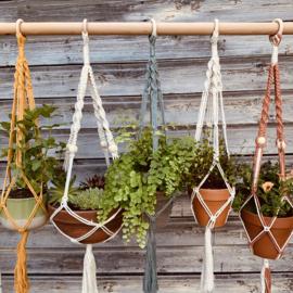 Macrame plantenhanger basic