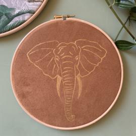 Muurhangerset olifant