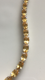 citrine tennisbracelet (4mm wide)