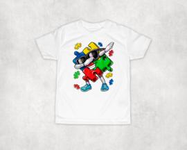 Shirt | Dabbing puzzelstuk Autisme