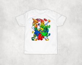 Shirt | Dabbing unicorn Autisme