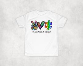 Shirt | Peace Love Autism