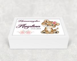 Herinneringsbox | Baby tijgertje