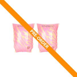 Zwembandjes | Roze Zebra 2-6 jaar