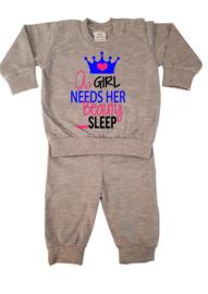 Pyjama | A Girl Needs Her Beauty Sleep