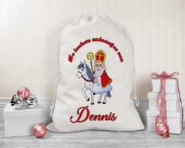 Cadeauzak | Sinterklaas op paard