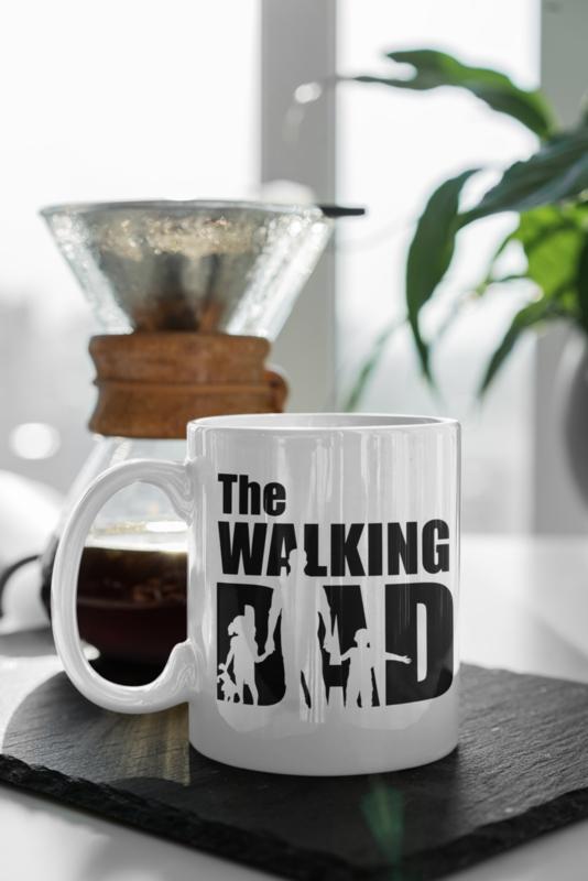 Mok   The walking dad (2 kinderen)