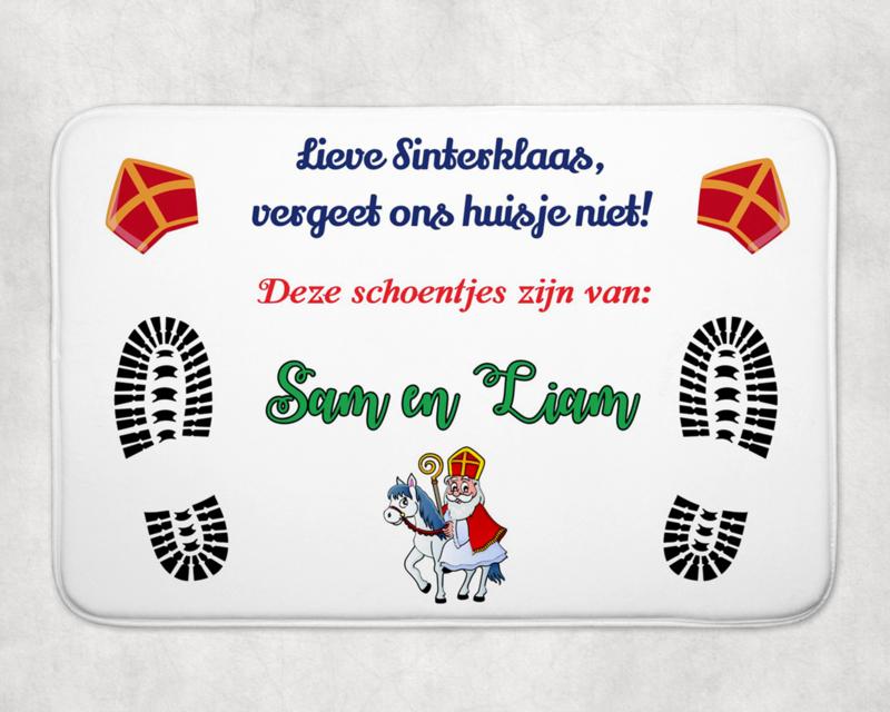 Schoenzet mat | Sinterklaas op paard