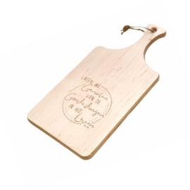 Hapjesplank - Laten we genieten van de goede dingen in het leven