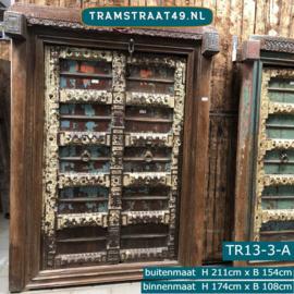 Oude deur India TR13-3-A