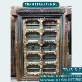 Oude deur India TR13-3-C