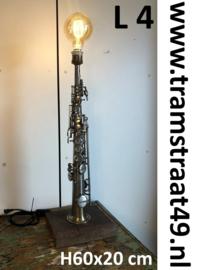 sopraan saxofoon tafellamp - muziekinstrument lamp