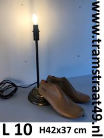 Vintage schoenmaker leest lamp
