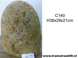 Riviersteen urn C140