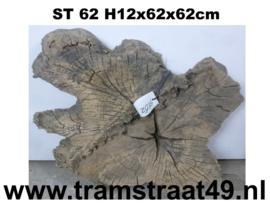 Erosie hout boomschijf