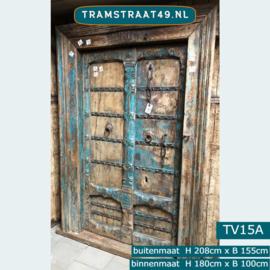 Oude deur mooi verweerd